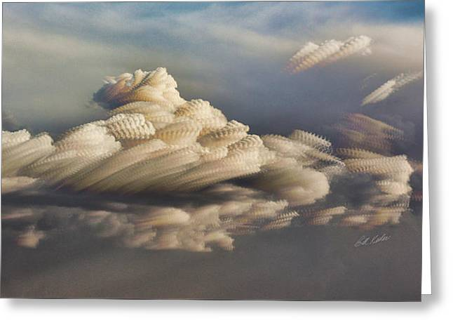 Bill Kesler Greeting Cards - Cupcake In The Cloud Greeting Card by Bill Kesler