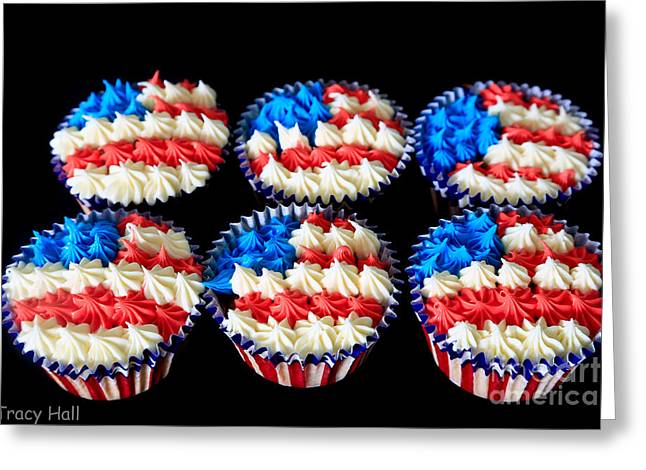 Star Greeting Cards - Cupcakes Greeting Card by Tracy  Hall