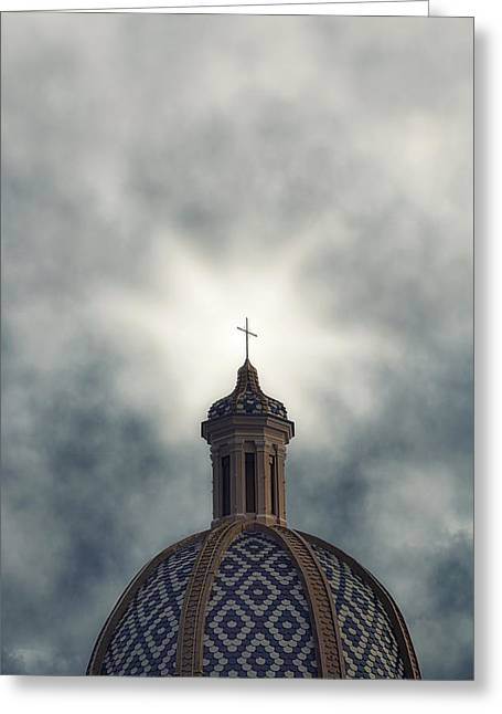 Cupola Photographs Greeting Cards - Cupola Greeting Card by Joana Kruse