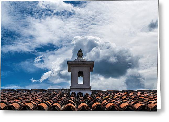 Cupula Greeting Cards - Cupula Antigua Guatemala 1 Greeting Card by Totto Ponce