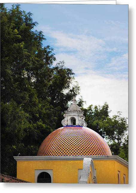 Cupula Greeting Cards - Cupula Antigua Guatemala 2 Greeting Card by Totto Ponce
