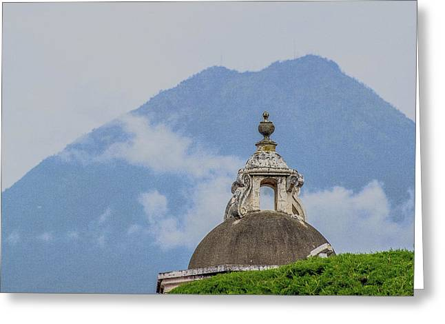 Cupula Greeting Cards - Cupula Antigua Guatemala 3 Greeting Card by Totto Ponce