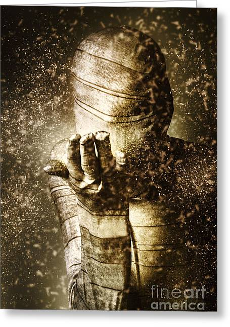 Curse Of The Mummy Greeting Card by Jorgo Photography - Wall Art Gallery