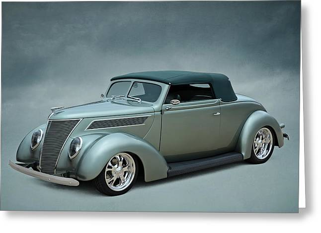 Custom Ford Greeting Cards - Custom 37 Greeting Card by Douglas Pittman