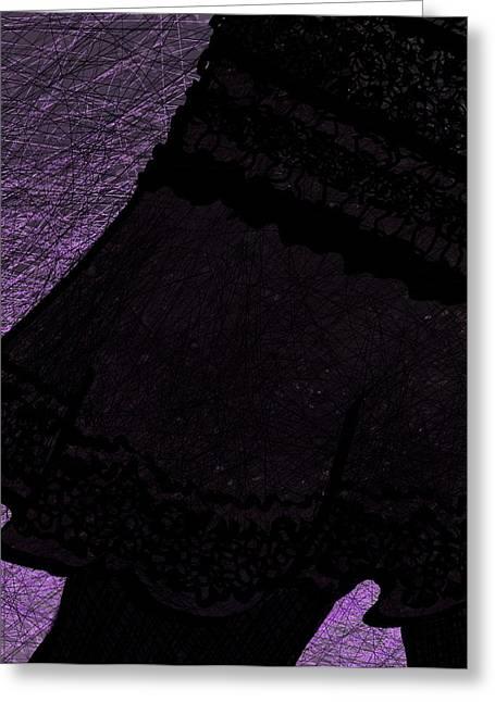 Apparel Greeting Cards - Cute Skirt Greeting Card by Rachel Christine Nowicki