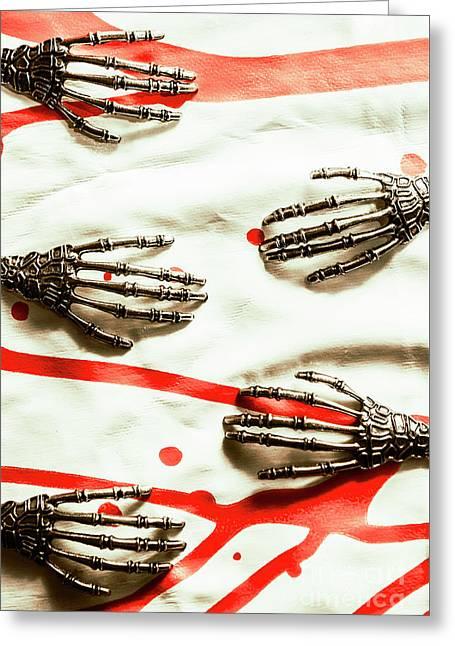 Cyborg Death Squad Greeting Card by Jorgo Photography - Wall Art Gallery