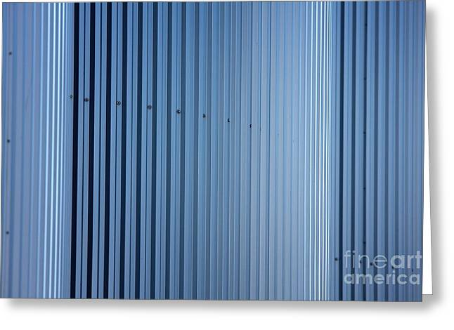 Dairy Factories Greeting Cards - Cylindrical silos Greeting Card by Jan Brons