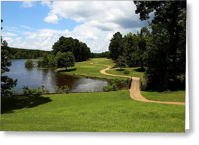 Many Greeting Cards - Cypress Bend Golf Resort 1 Greeting Card by Judy Vincent
