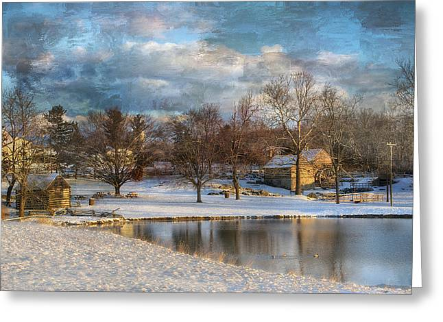 Mccormicks Farm Greeting Cards - Cyrus McCormick Farm Greeting Card by Kathy Jennings