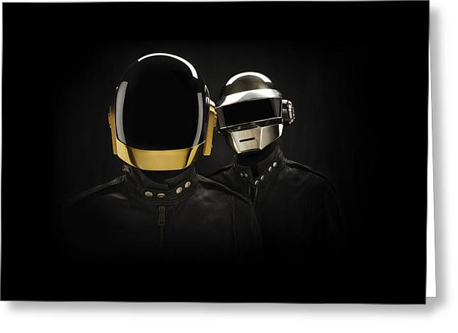 Daft Punk - 694 Greeting Card by Jovemini ART