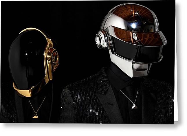 Daft Punk - 75 Greeting Card by Jovemini ART