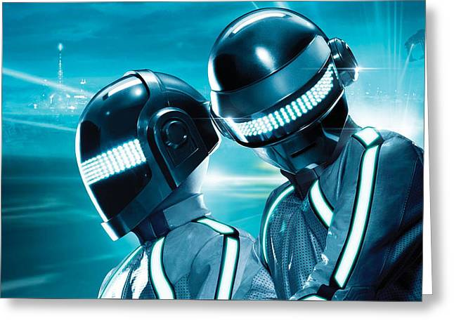 Daft Punk - 98 Greeting Card by Jovemini ART