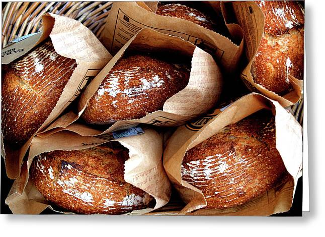 Bread Loaf Greeting Cards - DailyBread Greeting Card by Robert Trauth