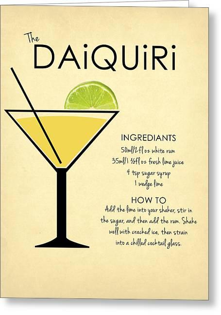Daiquiri Greeting Card by Mark Rogan