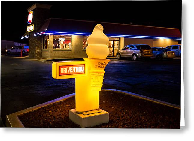 Dairy Queen, Monte Vista, Colorado Greeting Card by Kenneth Michel