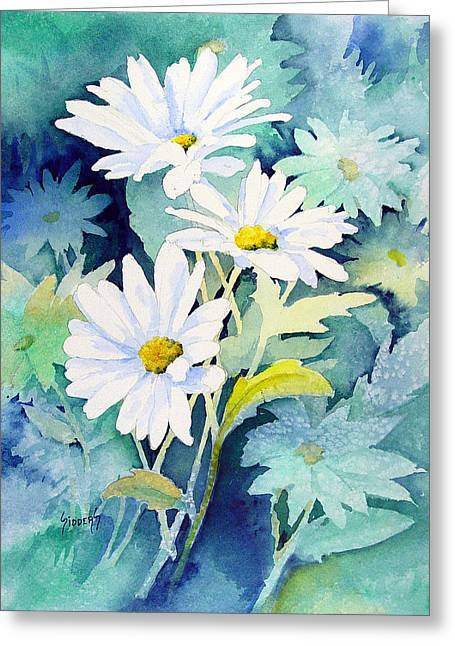 Daisies Greeting Card by Sam Sidders
