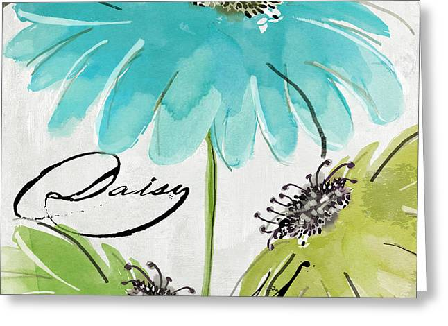 Daisy Morning Greeting Card by Mindy Sommers