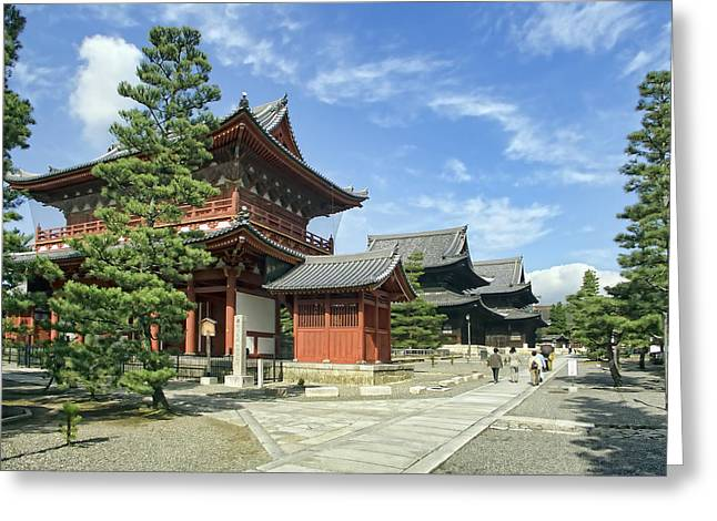 Kyoto Greeting Cards - Daitokuji Zen Temple Complex - Kyoto Japan Greeting Card by Daniel Hagerman