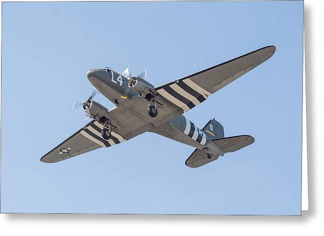 Military Airplanes Greeting Cards - Dakota DC3 Greeting Card by Colin Porteous