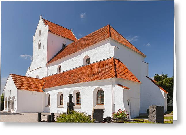 Kloster Greeting Cards - Dalby Kloster Greeting Card by Antony McAulay