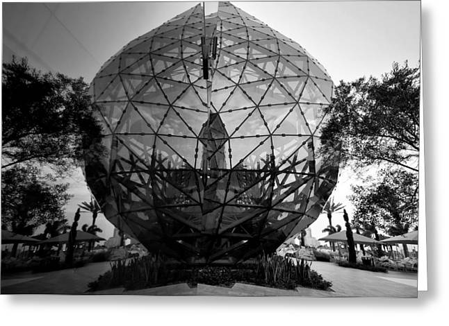 Geodesic Dome Greeting Cards - Dali Ball Greeting Card by David Lee Thompson