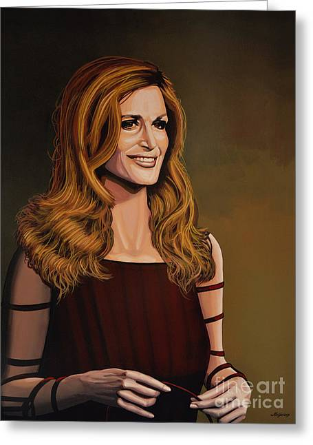 Suicide Greeting Cards - Dalida Greeting Card by Paul Meijering