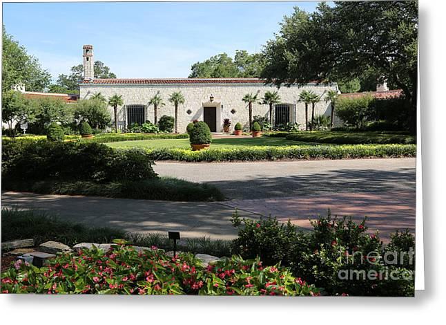Dallas Arboretum Greeting Cards - Dallas Arboretum and Botanical Garden Greeting Card by Carol Groenen