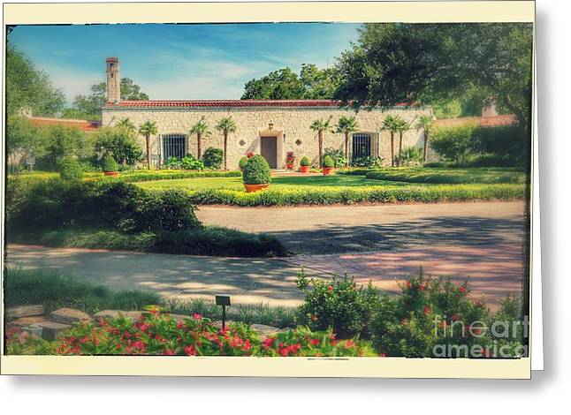 Dallas Arboretum Greeting Cards - Dallas Arboretum and Botanical Garden - Old Style Greeting Card by Carol Groenen