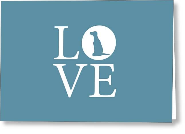 Owner Digital Greeting Cards - Dalmatian Love Greeting Card by Nancy Ingersoll