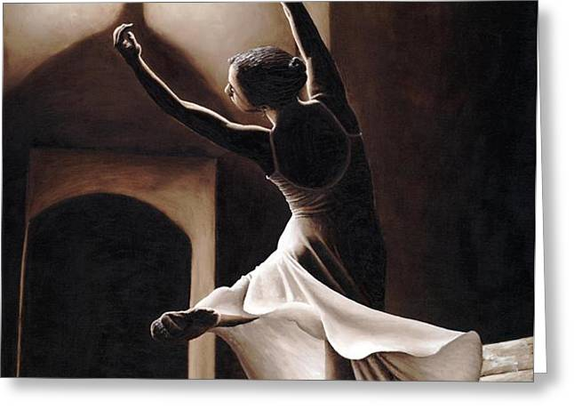 Dance Seclusion Greeting Card by Richard Young