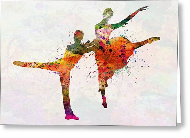 Dancing Queen Greeting Card by Mark Ashkenazi
