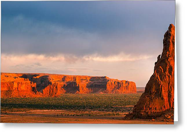Dancing Rocks, Navajo Reservation, Arizona, Usa Greeting Card by Henk Meijer Photography