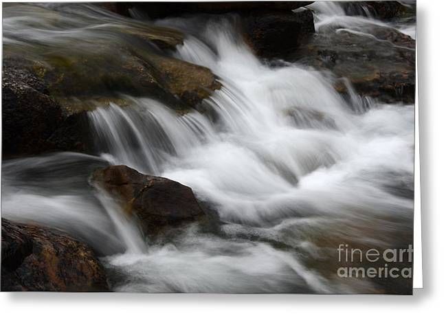 Clean Water Greeting Cards - Dancing Waters 1 Greeting Card by Bob Christopher