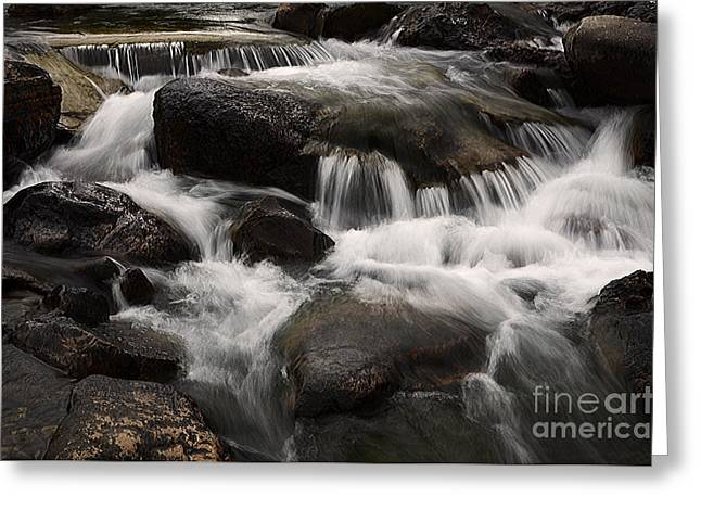 Clean Water Greeting Cards - Dancing Waters 7 Greeting Card by Bob Christopher