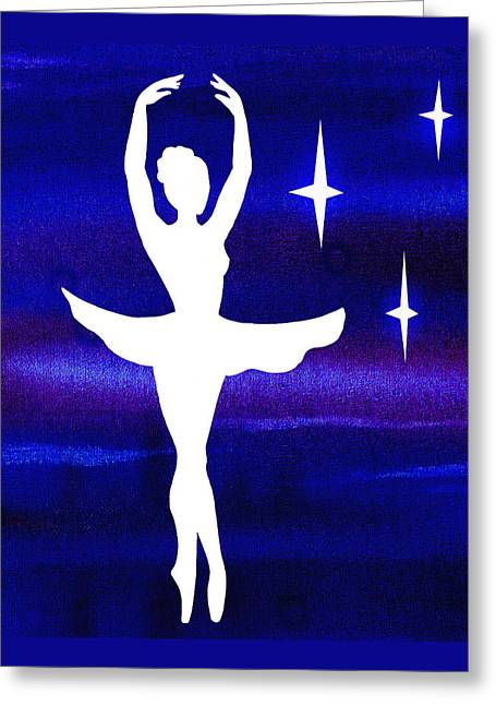Lessons Greeting Cards - Dancing With The Stars Greeting Card by Irina Sztukowski