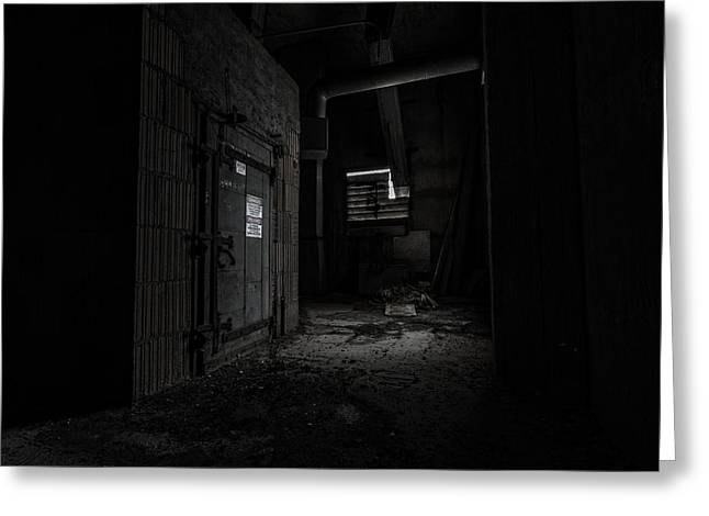 High Voltage Greeting Cards - Danger in the Shadows Greeting Card by CJ Schmit