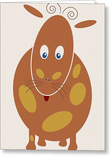 Dangerous Animal Greeting Card by Frank Tschakert