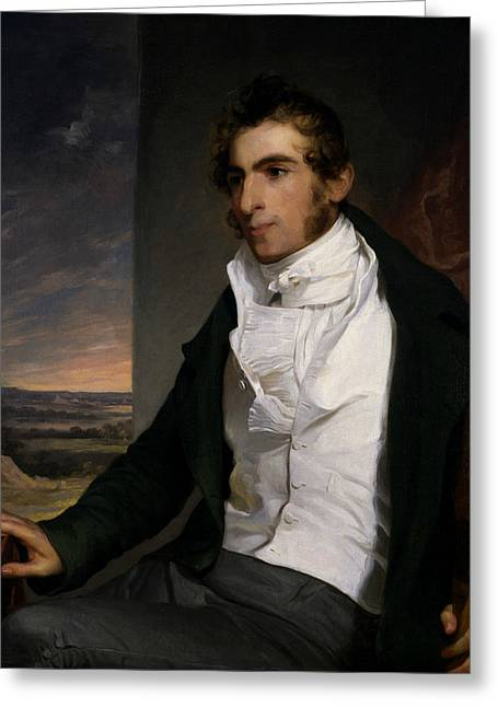 Daniel La Motte Greeting Card by Thomas Sully
