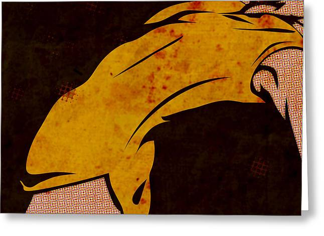 Woman Greeting Cards - Danse I Greeting Card by Sandra Hoefer