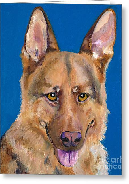 Greeting Cards - Dante Greeting Card by Pat Saunders-White