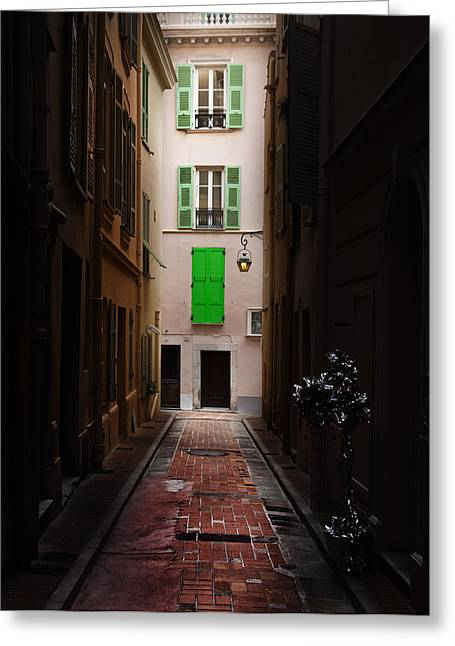 Cecil Fuselier Greeting Cards - Dark and Light Greeting Card by Cecil Fuselier