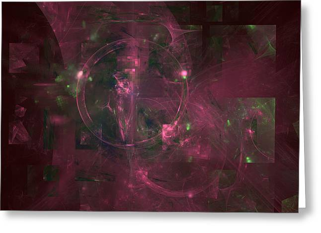 Intrigue Greeting Cards - Dark Day Greeting Card by Jeff Iverson