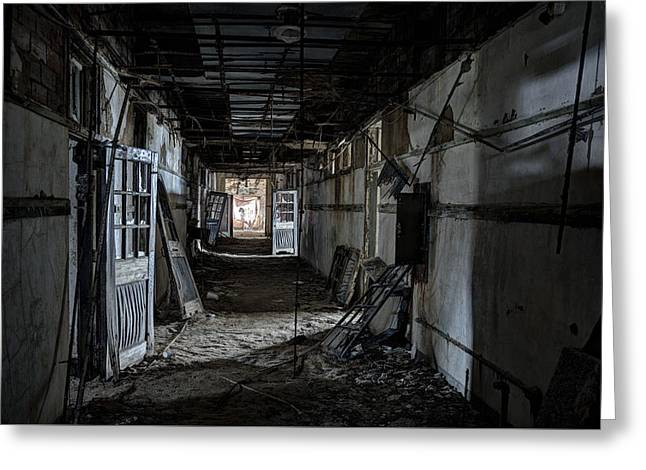 Greeting Cards - Dark Passage Greeting Card by Robert Myers