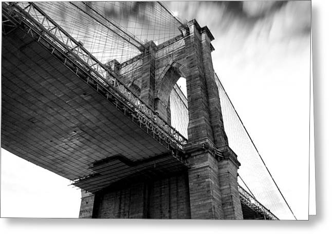 New York City Greeting Cards - Dark Side Calling Greeting Card by Az Jackson