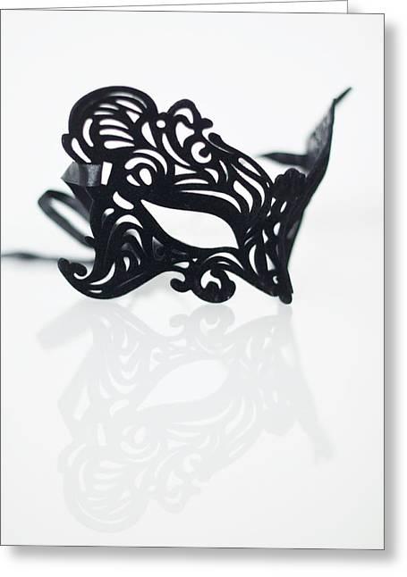 Intrigue Greeting Cards - Black Swan Greeting Card by Marzena Jandura