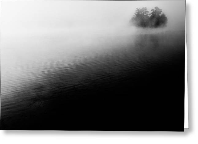 Foggy Landscapes Greeting Cards - Darkness and Light Greeting Card by Parker Cunningham
