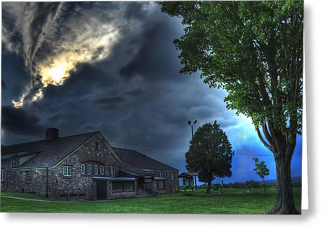 Approaching Storm Greeting Cards - Darkness Cometh Greeting Card by Shawn Gaske