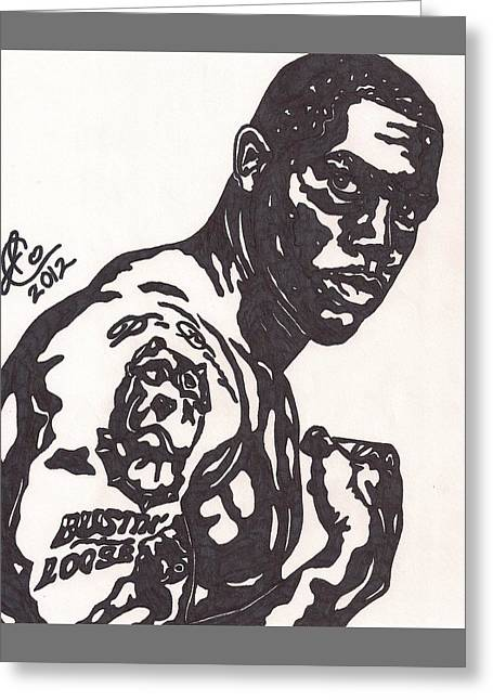 Player Greeting Cards - Darren McFadden 4 Greeting Card by Jeremiah Colley