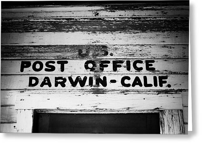 Calif Greeting Cards - Darwin Post Office Greeting Card by Troy Montemayor