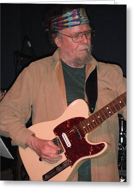 New Riders Of The Purple Sage Greeting Cards - David Nelson Greeting Card by Susan Carella